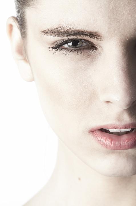 Women's, Portrait, Beautiful, Face, Model, Human