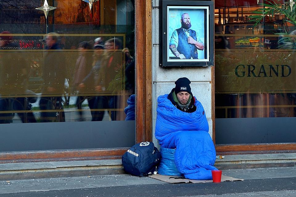 Christmas, Poverty, Donate, Help, Human, Homeless