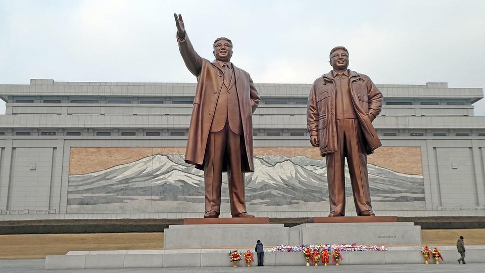 Human, Man, Monument, North Korea, Leader