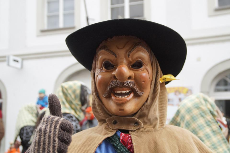 Man, Human, Person, Portrait, Face, Strassenfasnet