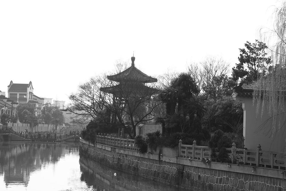 Black And White, Ancient Architecture, Humanities
