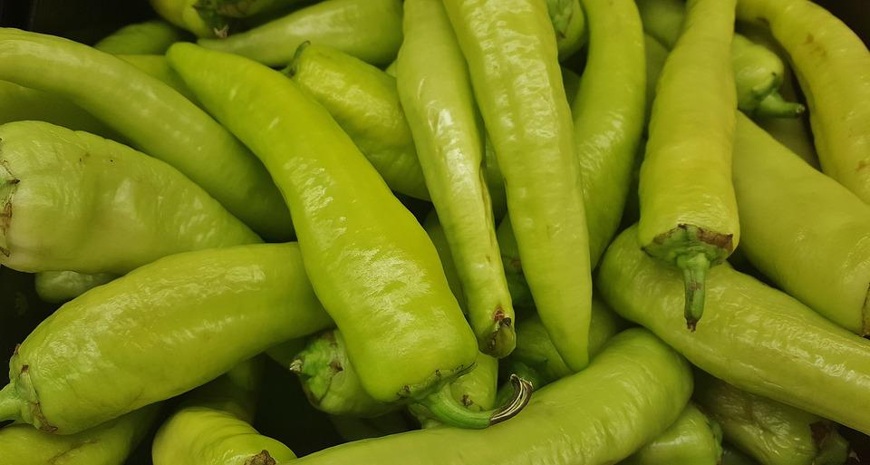Hungarian Wax Peppers, Hungarian Chile Peppers, Peppers