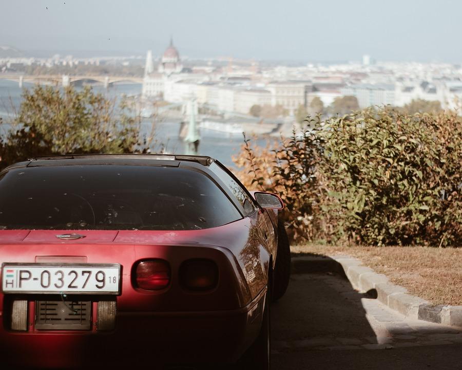 Car, Budapest, Sportcar, Hungary, Street, City, Porsche