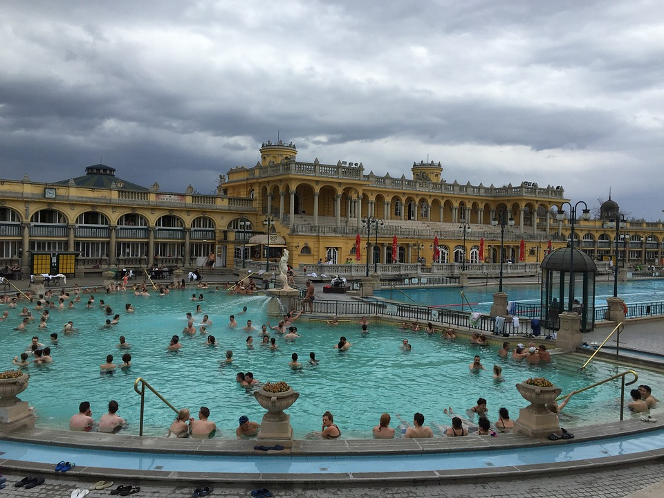Szechenyi Spa, Budapest, Hungary, Szechenyi