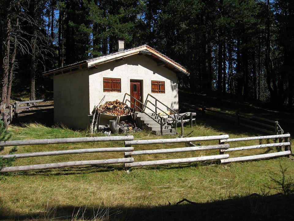 Cabin, Forsthaus, Hunting Lodge, Holiday House