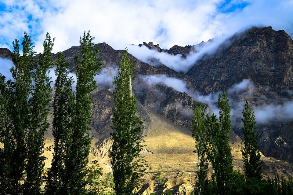 Hunza, Landscape, Mountains, Cones, Nature, Rocks