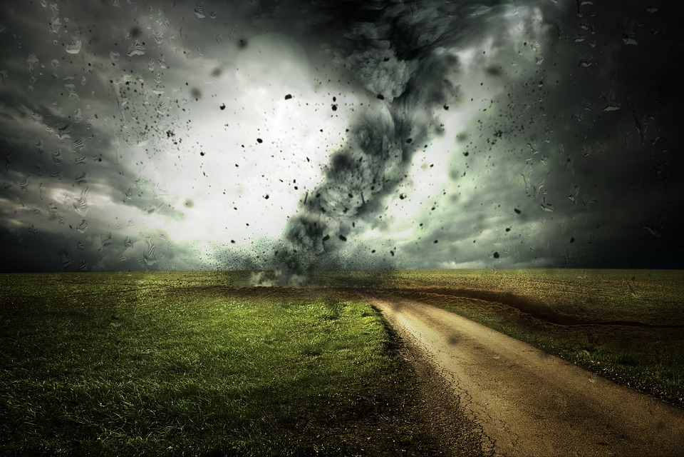 Cyclone, Forward, Hurricane, Storm, Clouds