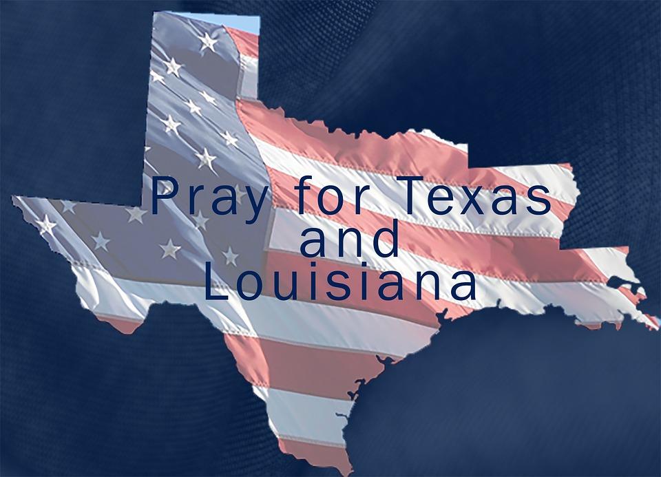 Texas, Hurricane Harvey, Louisiana, Pray For Texas