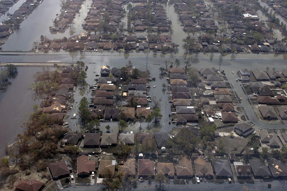 Hurricane Katrina, Flooding, New Orleans
