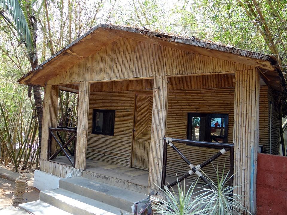 Cottage, Hut, Bamboo, Cabin, Leisure, Stay, Bangalore