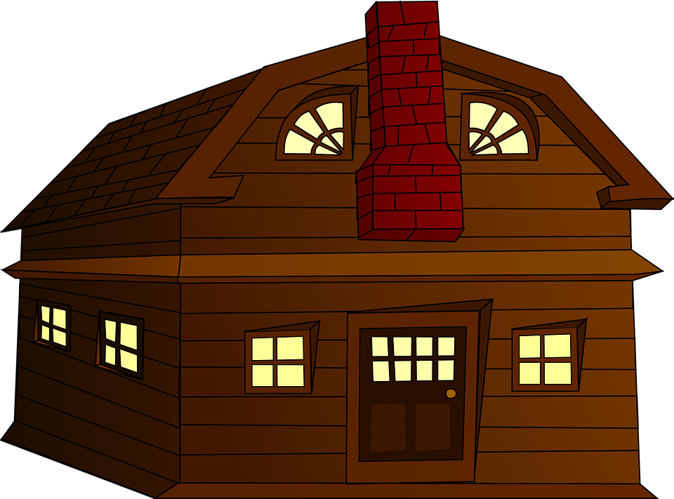 Shack, Hut, Wooden, Mormon, House, Home, Chimney