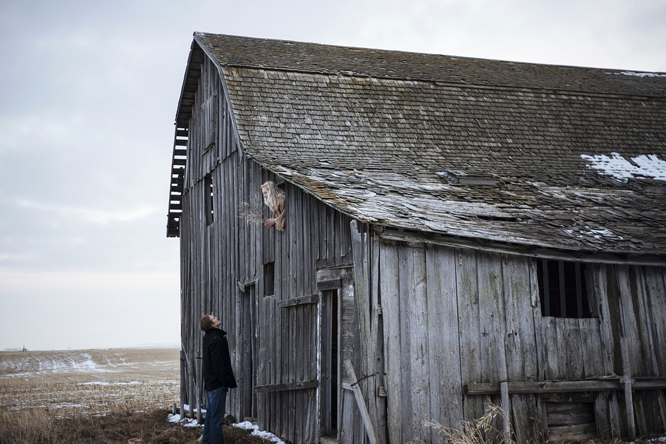 Outdoor, People, Man, Guy, Alone, Old, House, Hut