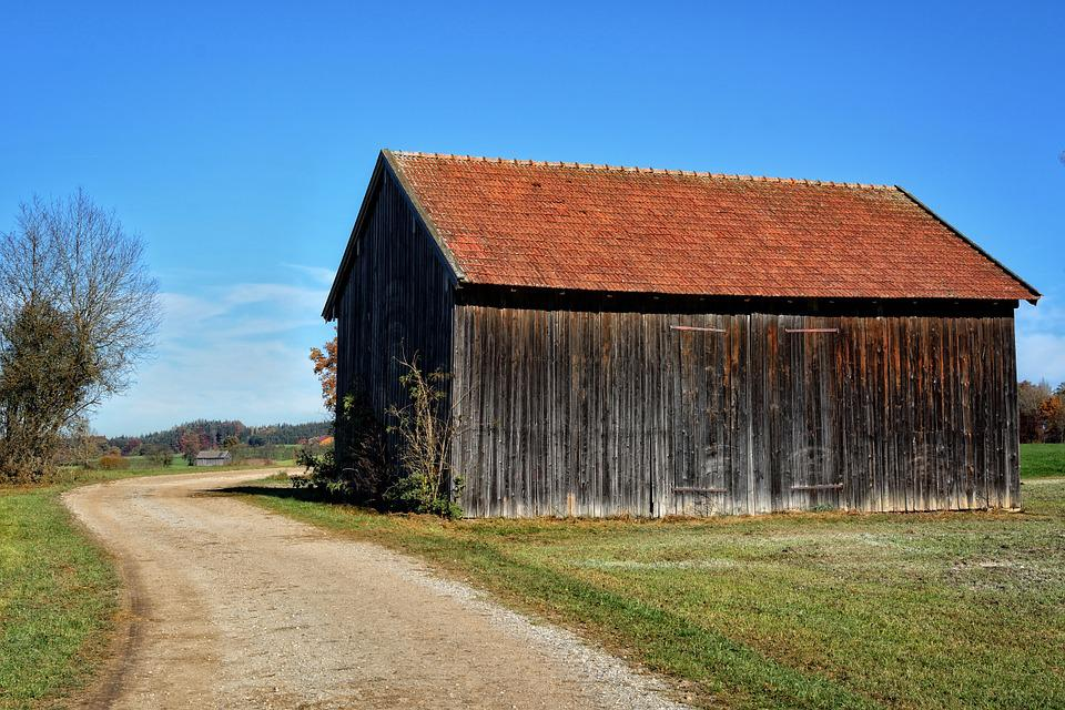Hut, Scale, Wood, Log Cabin, Away, Road, Nature, Old
