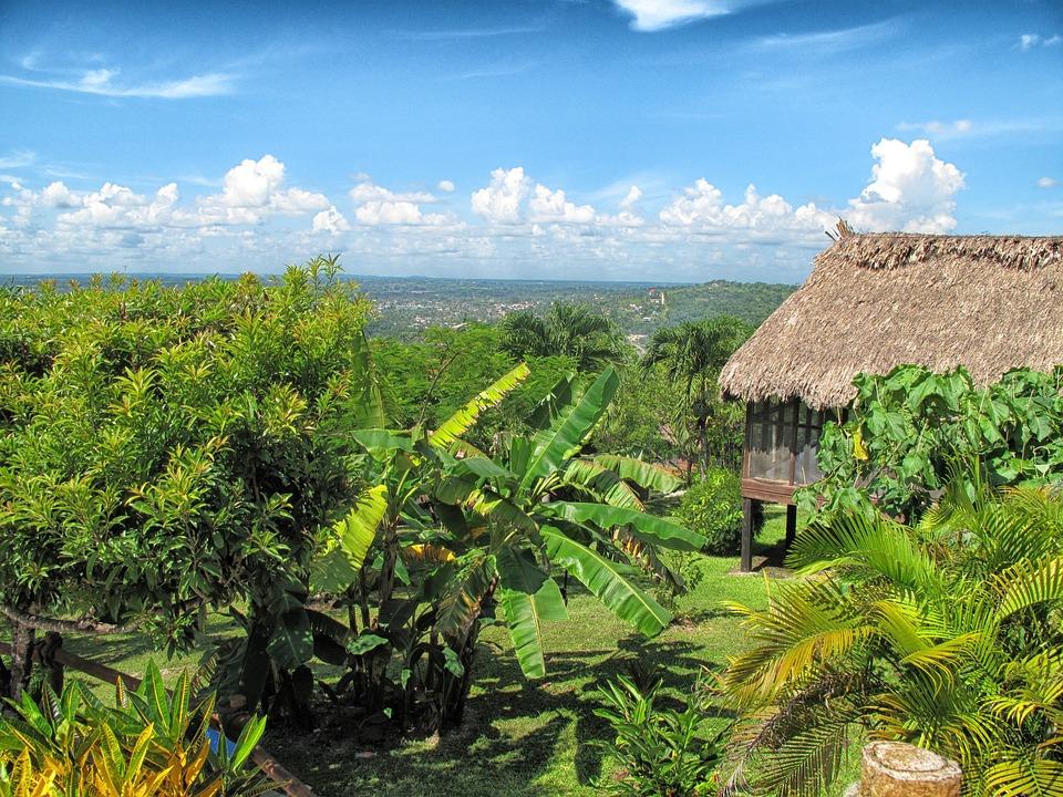 Peru, Landscape, Scenic, Hut, House, Home, Trees, Sky