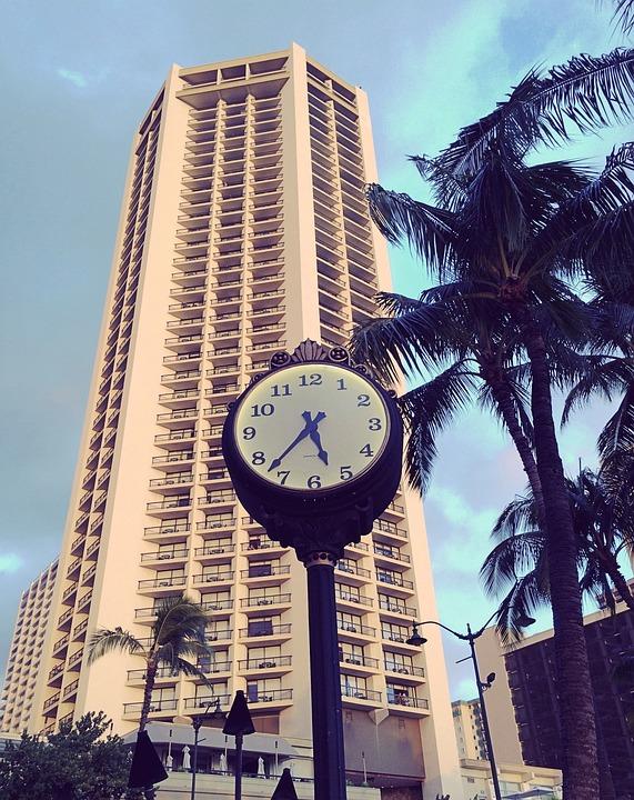 Hyatt, Regency, Hotel, Building, Hawaii, Honolulu