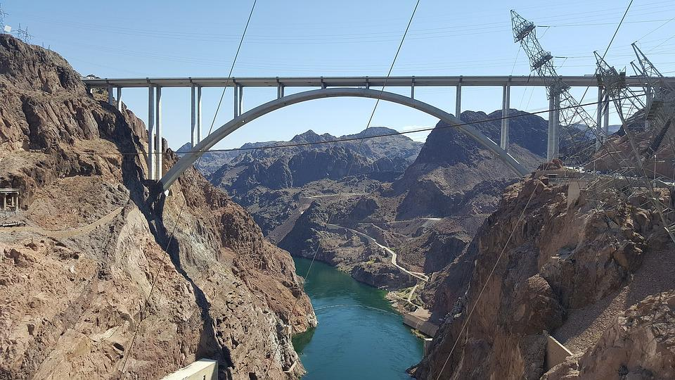 Hoover, Dam, Nevada, Usa, Electricity, Hydroelectric