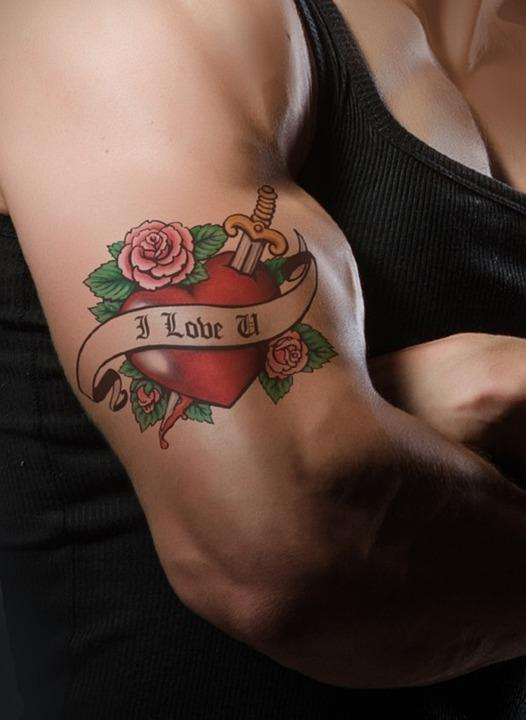 Tattoo, Hand, I Love You, Propose, Love, Valentine