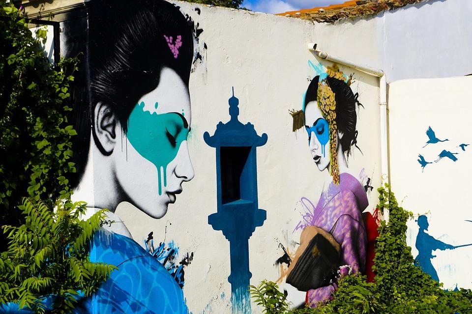 Human, Art, Graffiti, Artwork, Mural, Street Art, Ibiza