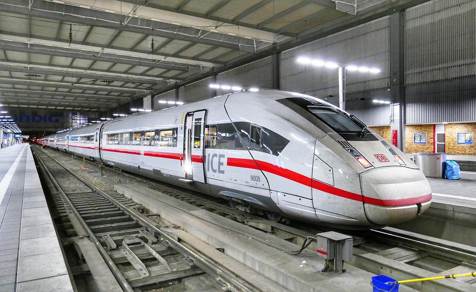Ice 4, Railway, Railway Station, Munich