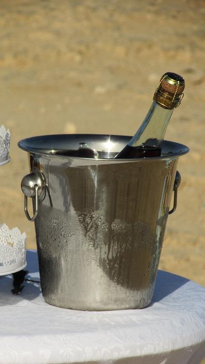 Ice Bucket, Wine, Party, Celebration, Wedding