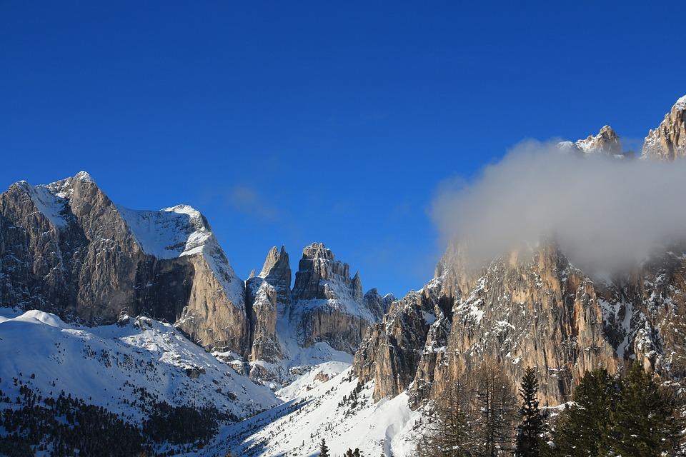 Snow, Mountain, Winter, Cold, White, Nature, Ice