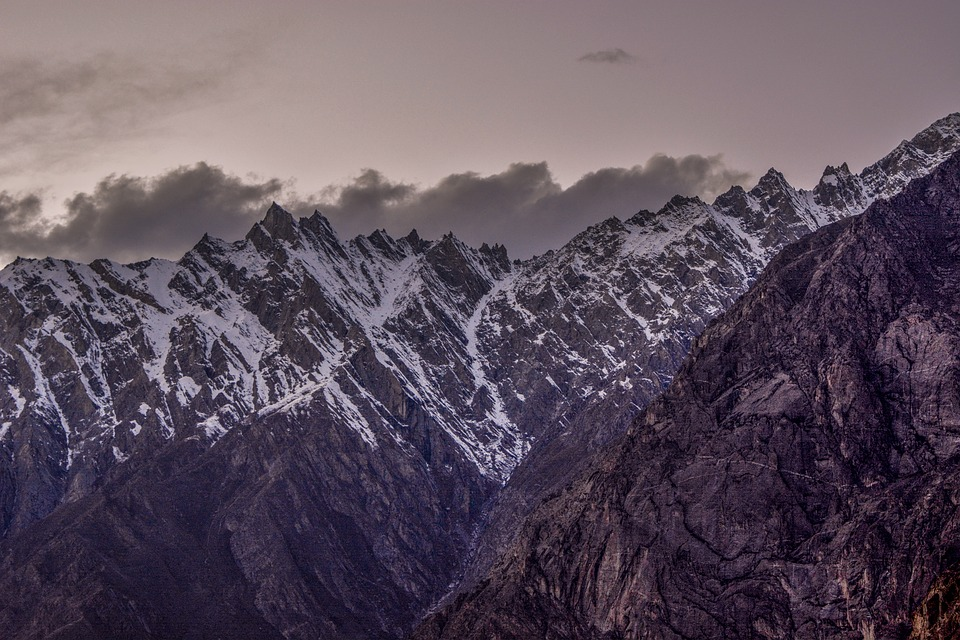 Climb, Clouds, Cold, Cones, Fog, Glacier, Hike, Ice