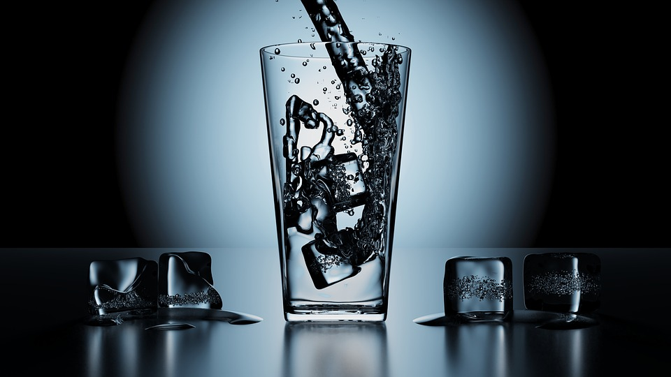 Water, Refreshing, Ice, Drink, Glass, Liquid, Wet