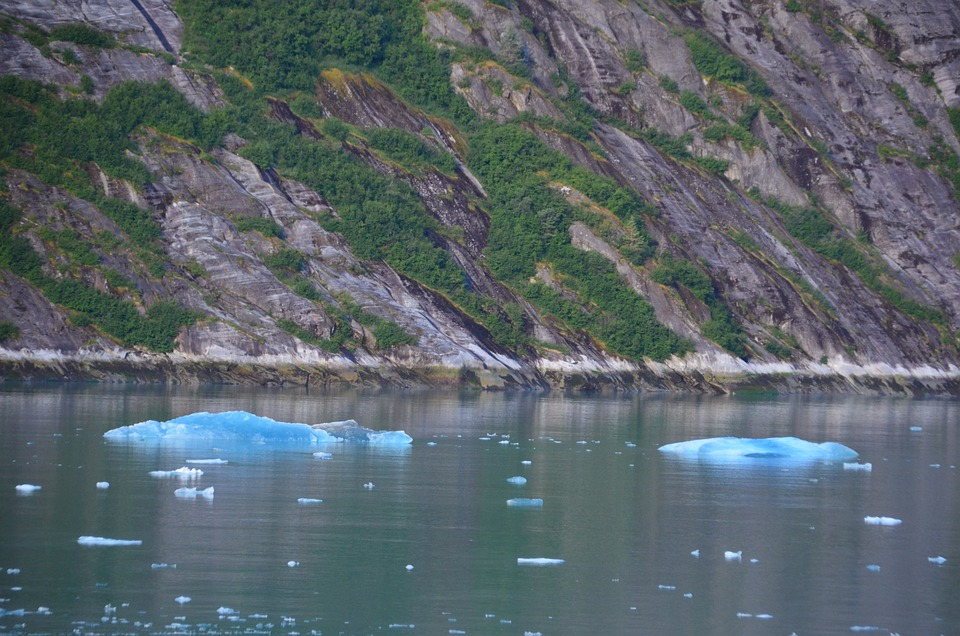 Ice Floes, Nature, Outdoors, Lake, River