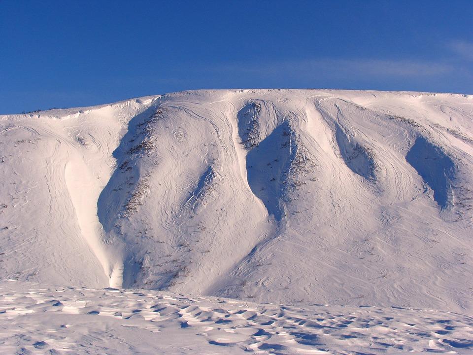 Snow, Mountain, Winter, Ice, Frost, Lone Peak, Nature