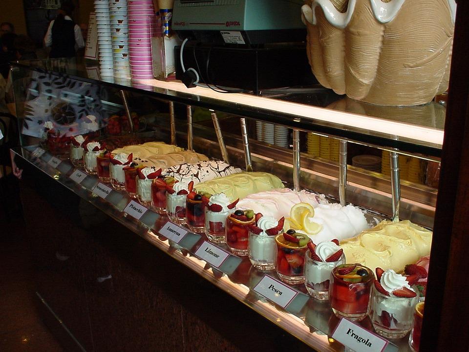 Italian, Yogurt, Gelateria, Ice Cream, Ice, Colorful