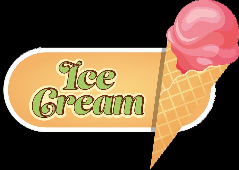 Ice, Ice Cream Cone, Ice Ball, Pink