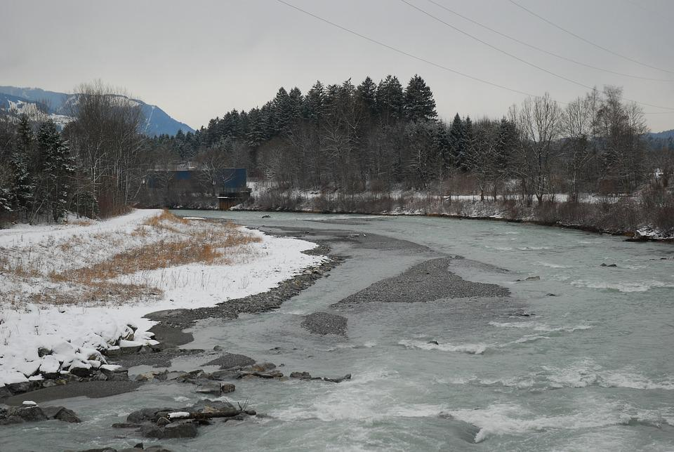 Winter, Snow, Nature, Waters, Ice, Frozen, Frost, Cold
