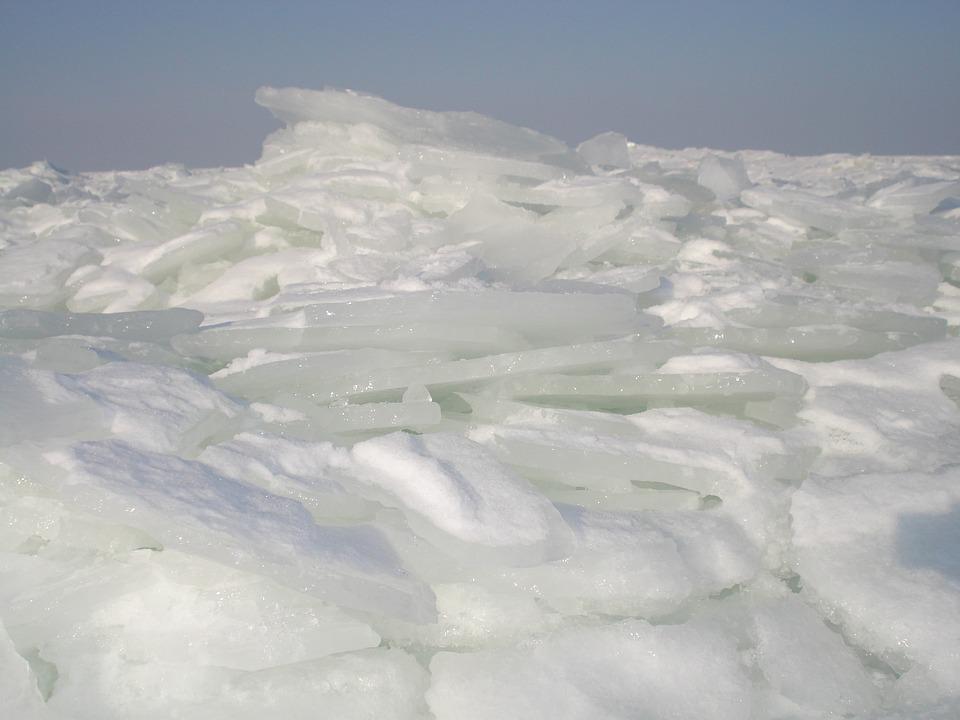 Island Of Usedom, Winter, Ice, Baltic Sea, Sea, Beach