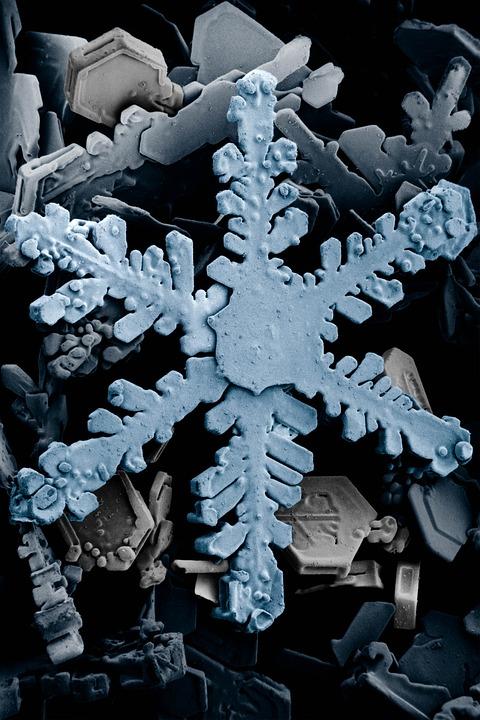 Ice Crystal, Crystals, Snow, Ice, Snow Crystals