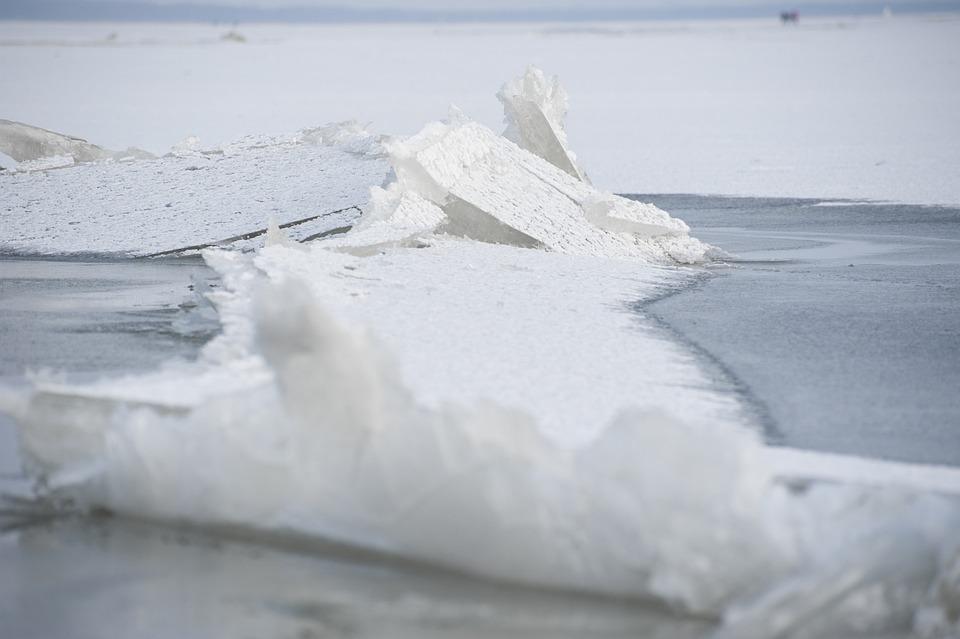 Ice Floe, Ice, Winter, Snow, Icebergs, Frozen, Nature