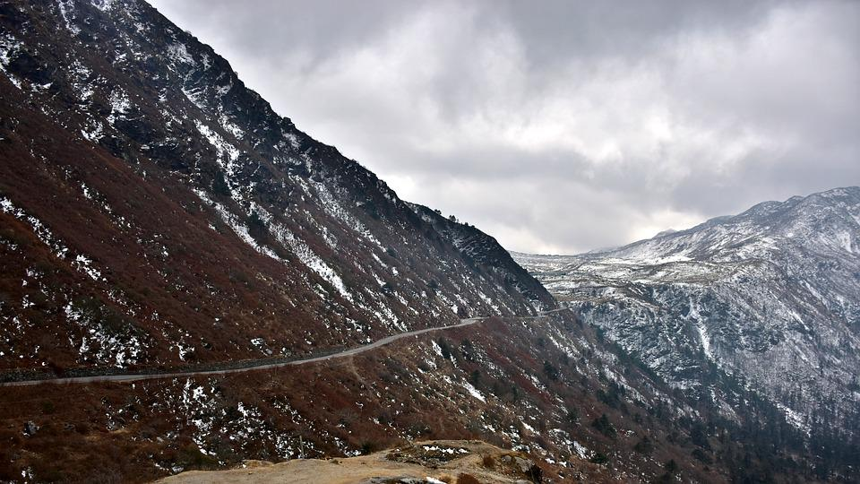 Mountain, Nature, Snow, Panoramic, Landscape, Rock, Ice