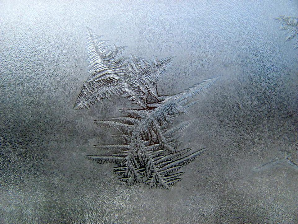 Snow, Winter, Window, Ice, Season, Snowflake, Frost