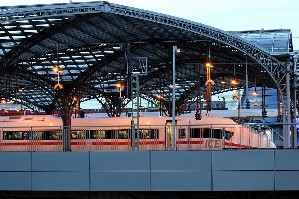 Train, Ice, Intercity, Railway Station, Train Station