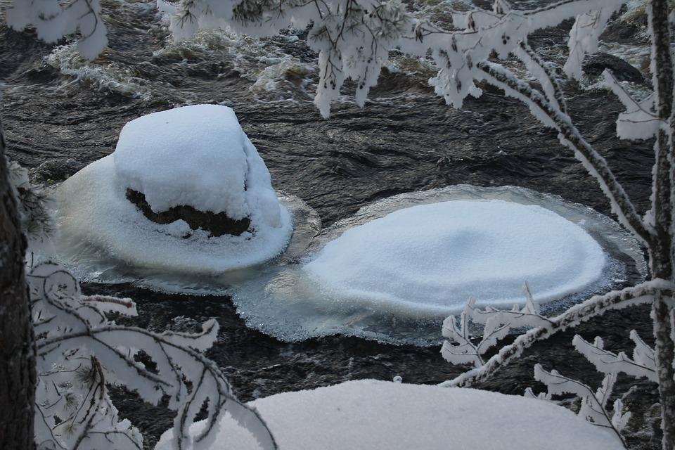 Ice, Water, Power, Flow, Winter