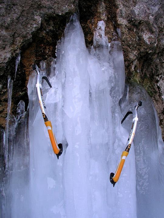 Ice, Mountaineering, Picks, Mountain, Winter, Cold