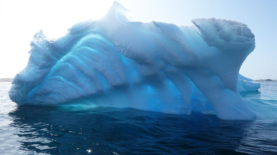 Iceberg, Ice, Greenland, Frozen, Cold, Sea, Nature