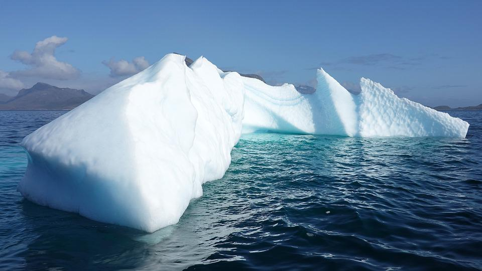 Iceberg, Ice, Greenland, Frozen, Cold, Sea, Nature