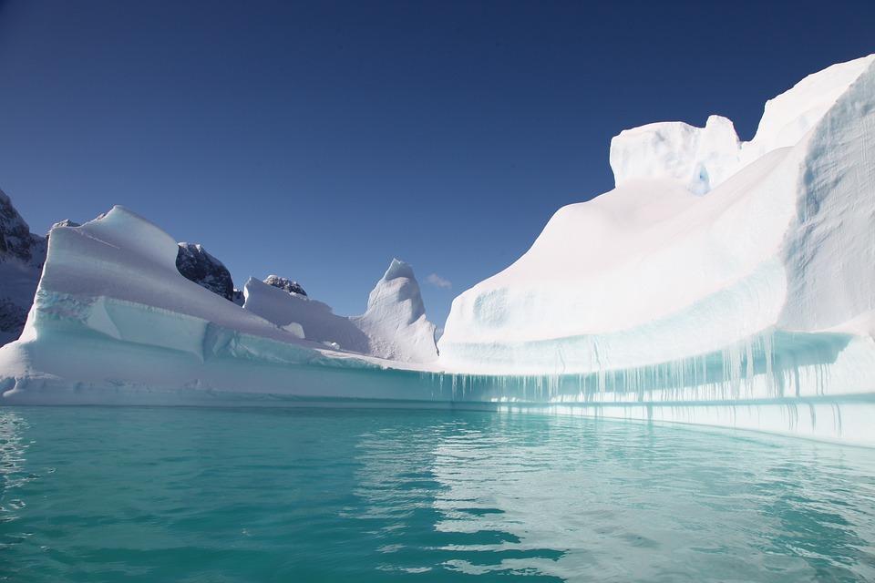 South Pole, Iceberg, Ice, Marine, Cold
