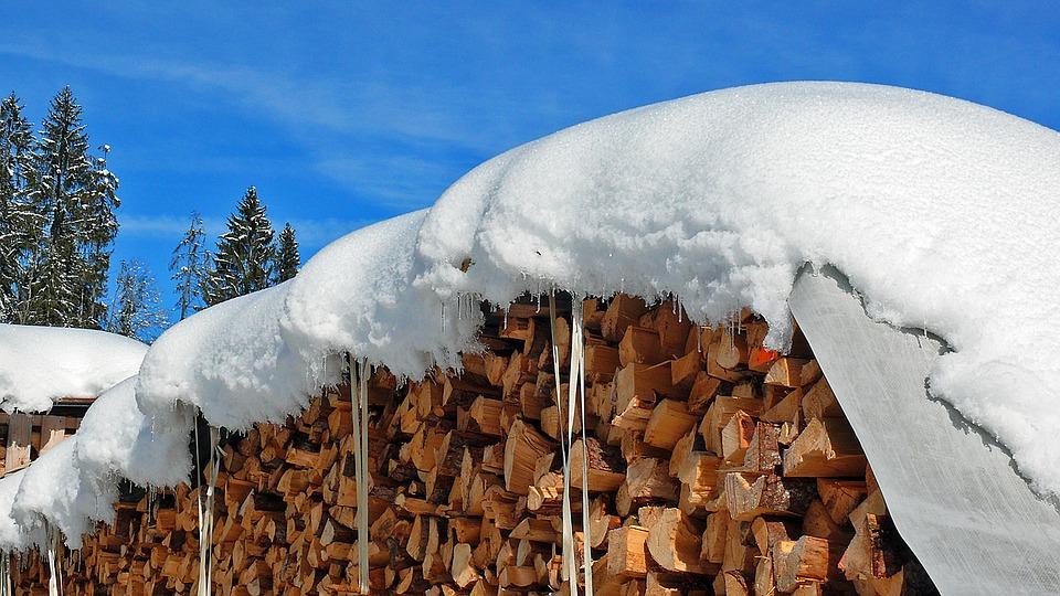 Trees, Ice, Iced, Eiskristalle, Frost, Frozen, Sky