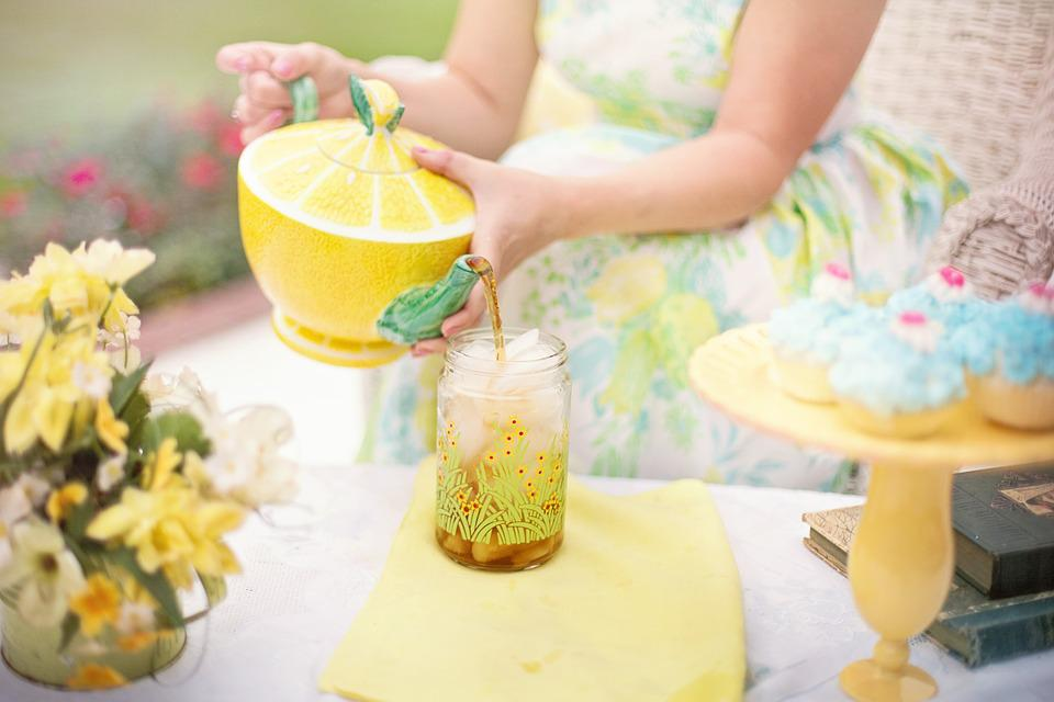Tea, Tea Time, Person, Summer, Tea Party, Iced Tea
