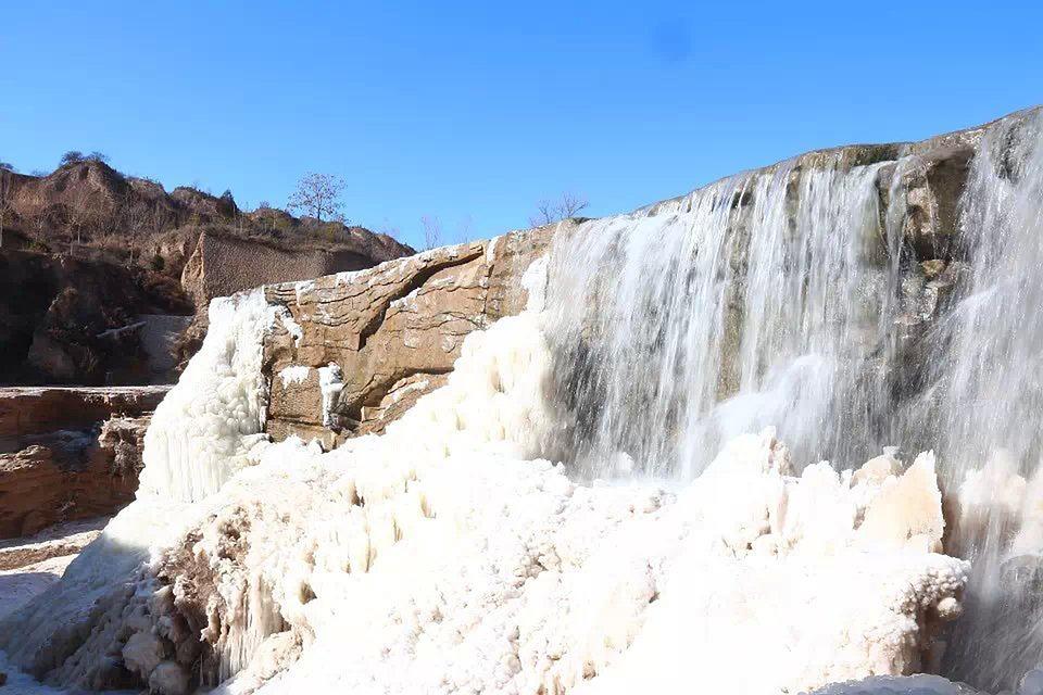 Blue Sky, Falls, Icefall