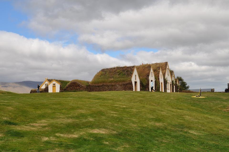 Torfhaus, Grass Roof, Iceland, Hut, Building