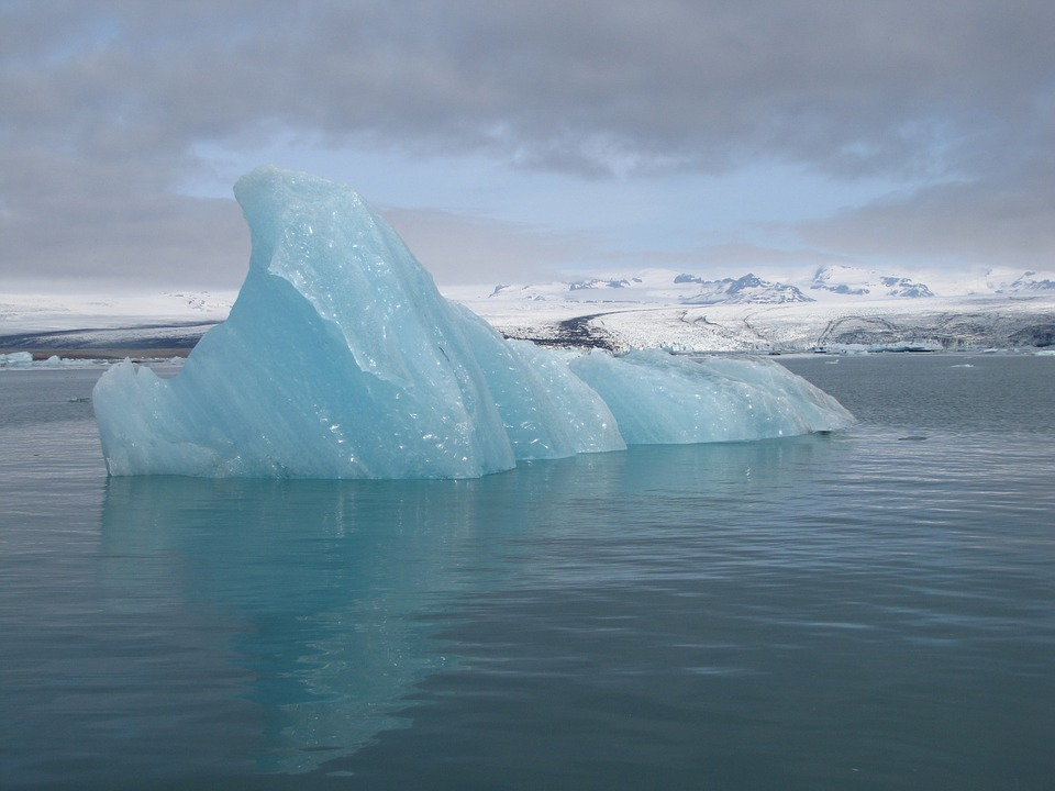 Iceland, Gletscherlagunge, Jökulsárlón, Iceberg