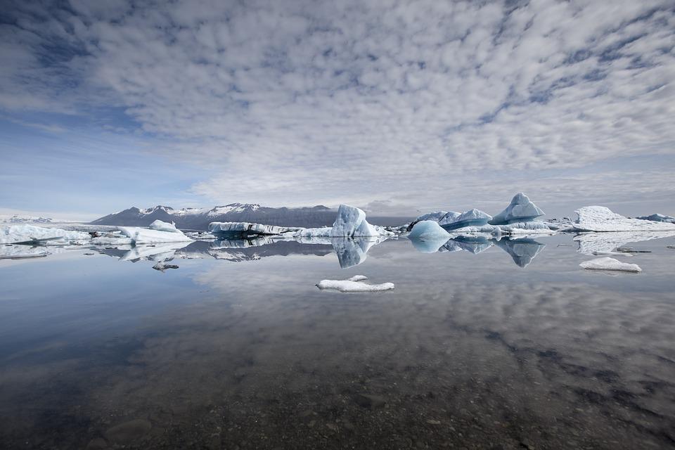 Iceland, Glacier, Iceberg, Landscape, Lagoon