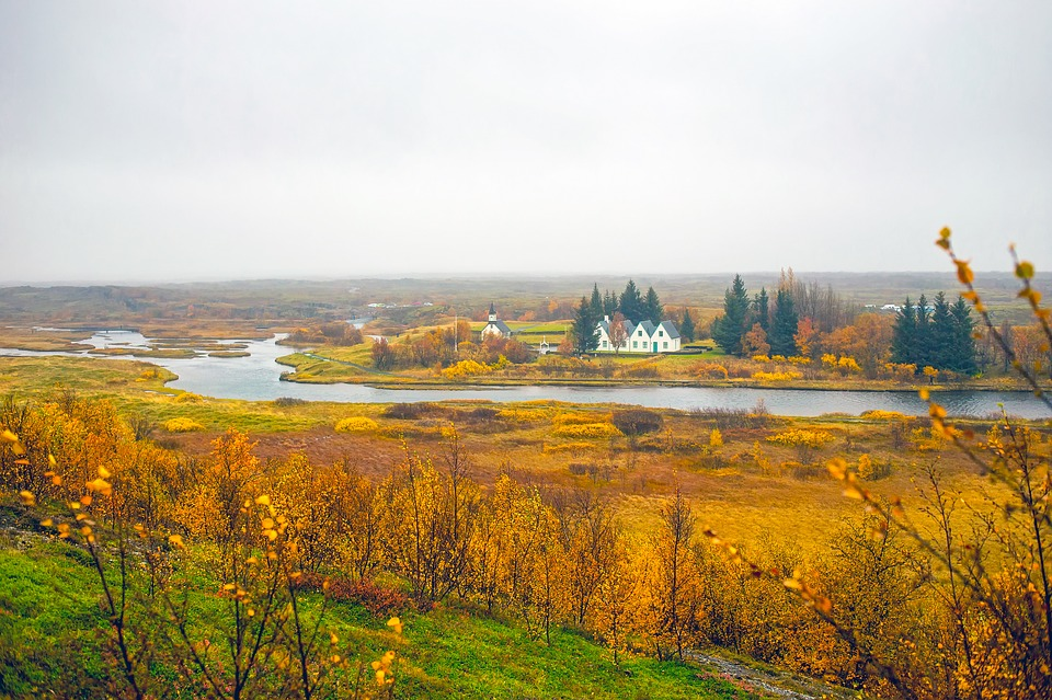 Iceland, Landscape, Scenic, Fall, Autumn, Colors